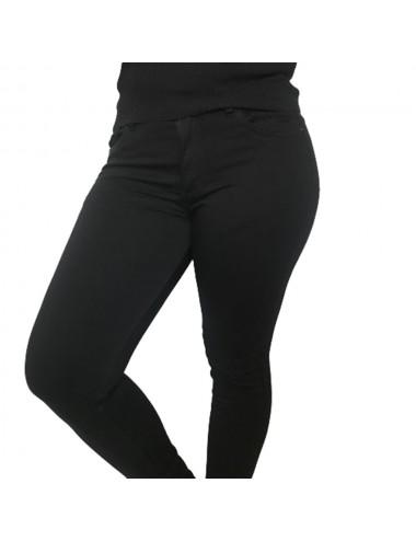 Pantalon noir slim Stretch...
