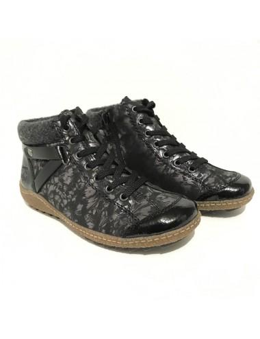 Chaussure montante fourrée...