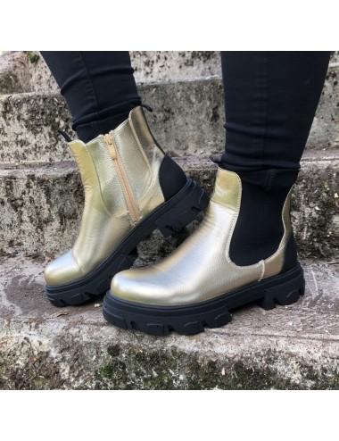 Boots Grosse Semelle
