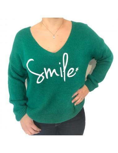 "Pull épais ""SMILE"""
