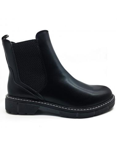 Boots noir semelle épaisse...