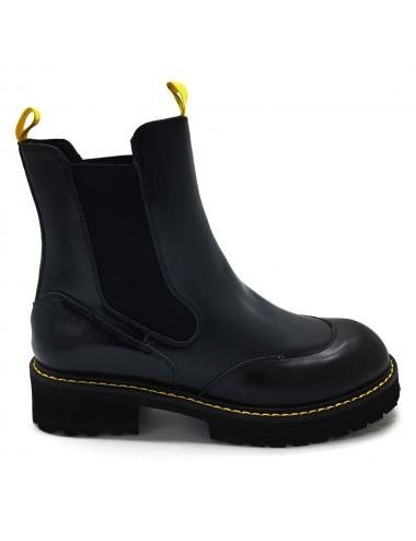 Chelsea boots noir semelle...