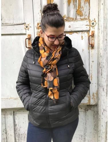 Doudoune noir hiver