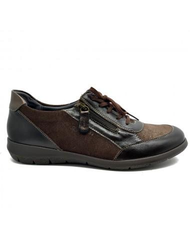 Chaussure confort à zip Suave Oxford6627T