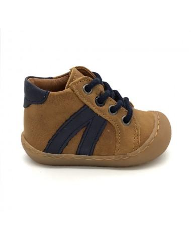 Chaussure bébé garçon camel Bellamy Rudi