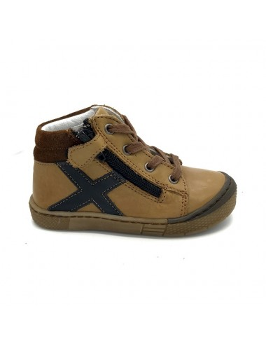 Chaussure montante camel Bellamy Axel