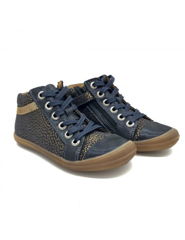 Chaussure montante lacets + zip Bellamy