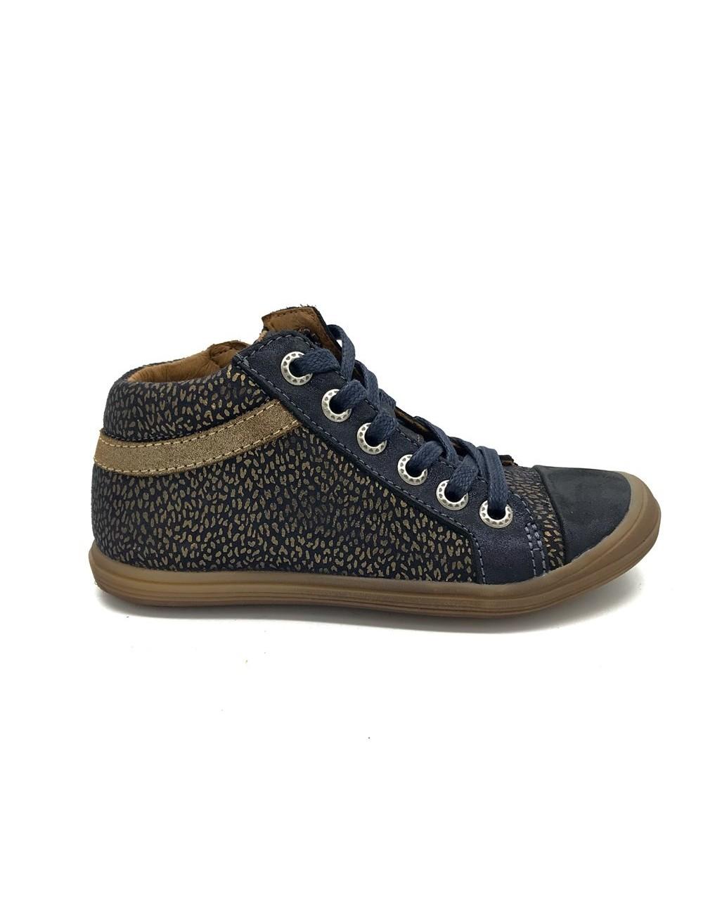 Chaussure montante lacets + zip Bellamy