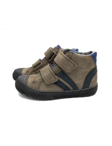 Chaussure à scratch marron Bellamy Ido