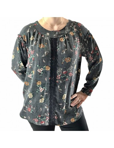 Blouse fleurie Grande Taille