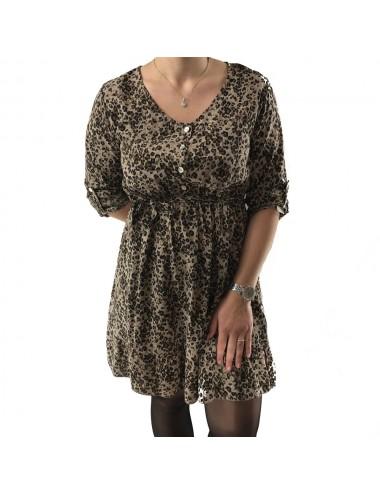 Robe imprimé léopard