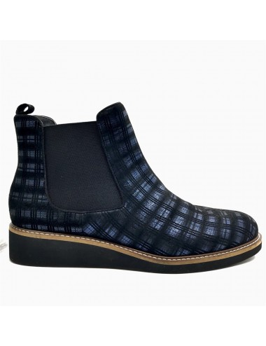 Chelsea boots bleu Fugitive