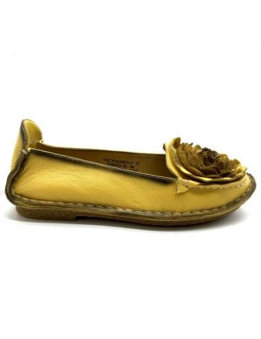 Ballerine jaune Vicvianeo...
