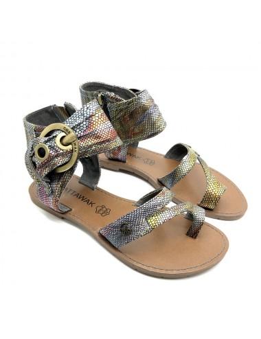 Sandale plate Pensee Chattawak