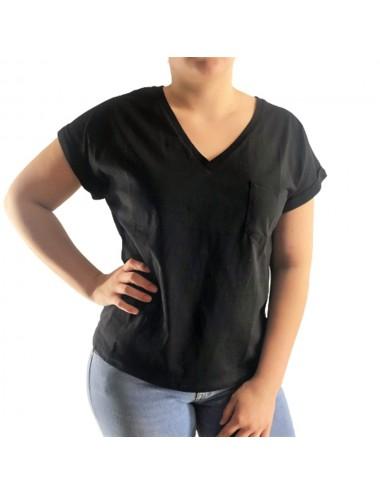 Tee-Shirt uni avec poche