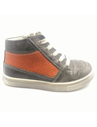Chaussure montante grise et...
