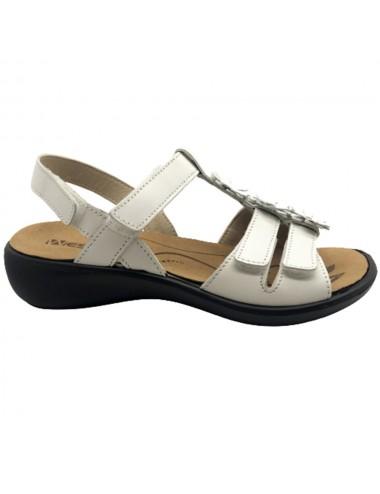 Nu-pied blanc confort...