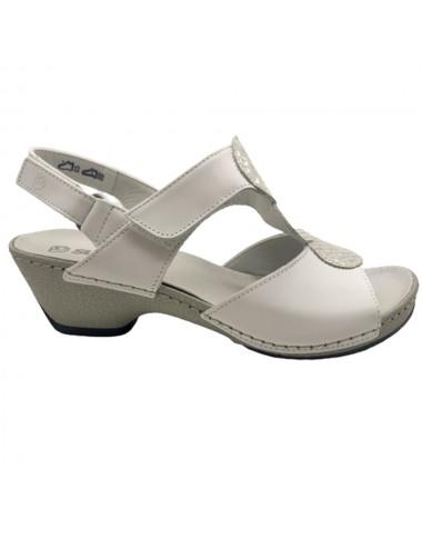 Nu-pied blanc confort Suave...