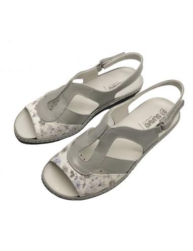 Nu-pied gris confort Suave...