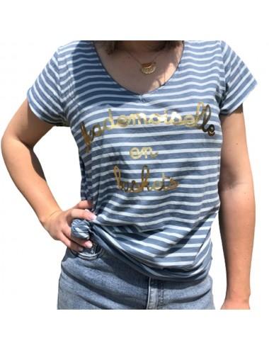Tee-Shirt Mademoiselle En...