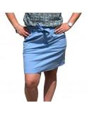 Jupe noeud courte colorée