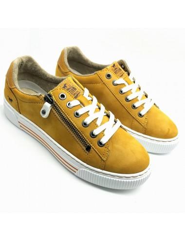 Basket jaune Mustang 1386-305